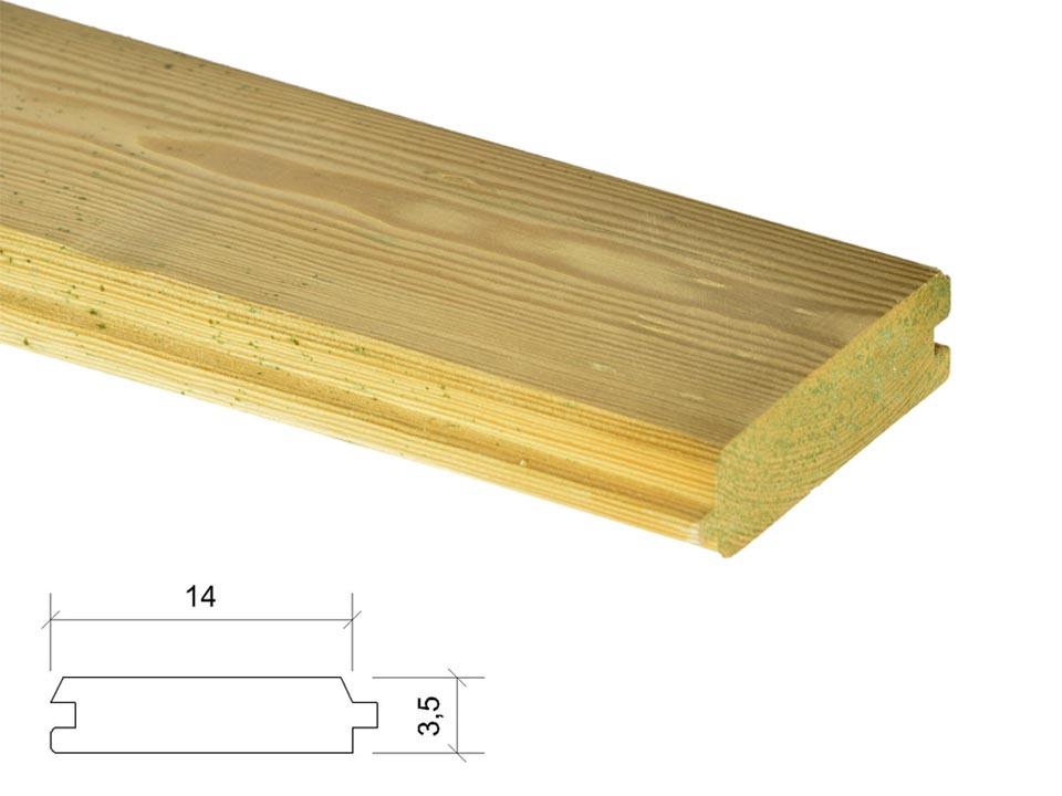 Madera de sierra listones machihembrados - Listones de madera para exterior ...