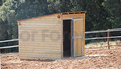 Vallas de madera y venta de madera tratada y madera para for Cobertizos de jardin baratos