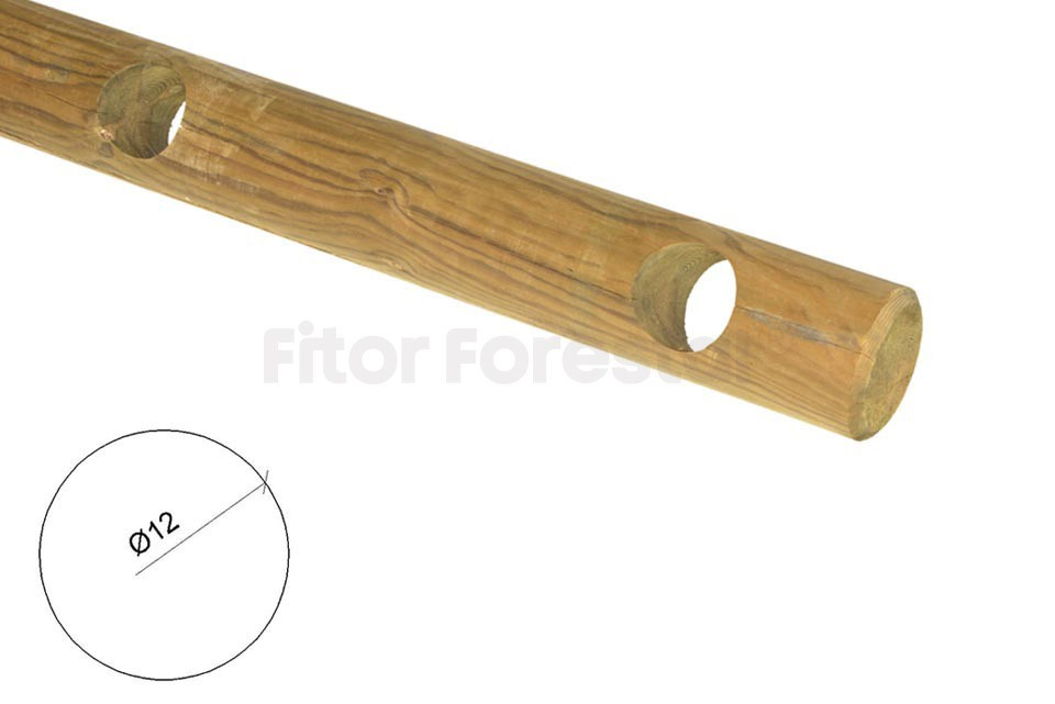 Postes de madera torneados fitor forestal - Fitor forestal ...