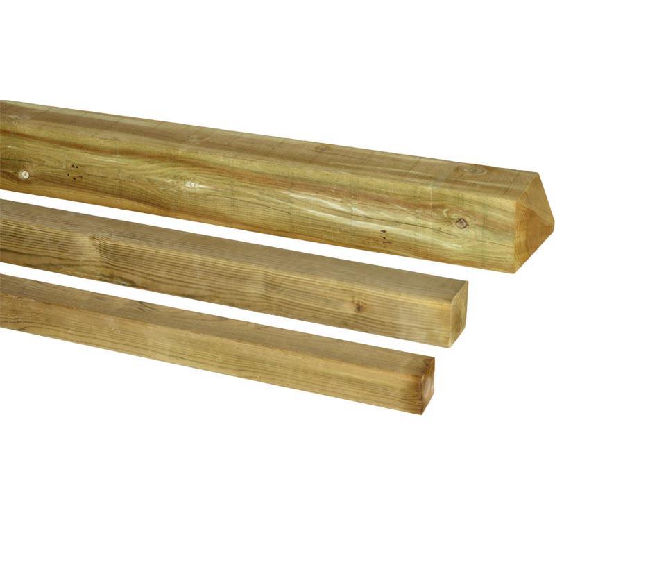 Postes de madera postes cuadrados - Postes de madera para pergolas ...