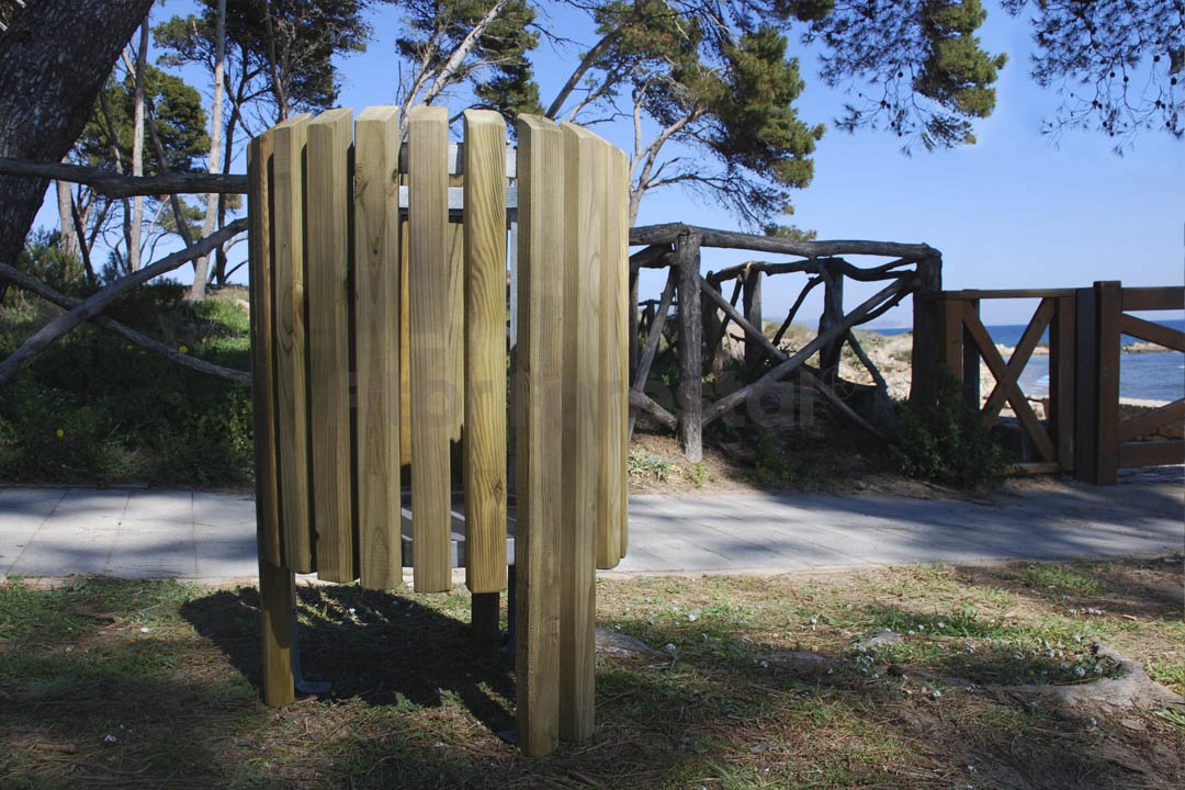 Papeleras de madera fitor forestal - Fitor forestal ...